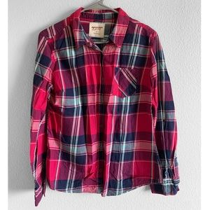 🍁Flannel long sleeve shirt
